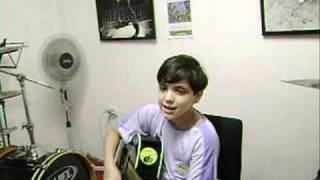 Nathan - Prof Paulo Garrido - cowboy fora da lei - aula de viol.- maringa - parana