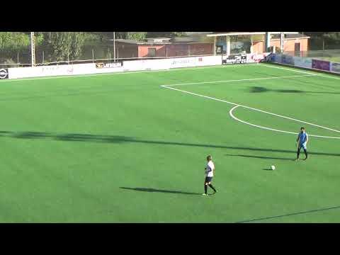 El Filial del Ourense CF jugando contra el UP Taboadela