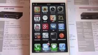 Видеонаблюдение через интернет ПО Macroscop для iPhone(, 2013-05-14T14:05:19.000Z)