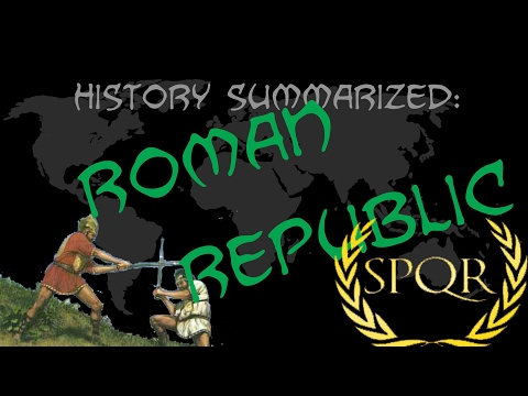 History Summarized: The Roman Republic (Better Version in Description)
