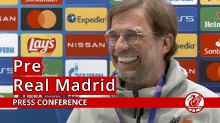 """not a revenge tour"" | real madrid vs. liverpool jurgen klopp press conference"