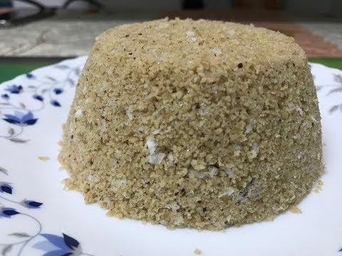 கோதுமை புட்டு /Wheat puttu #14 Recipe in tamil