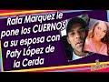 Exhiben a Rafa Márquez por sus encuentros con Paty Lopez de la Cerda