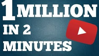 Video How To Get 1 Million Subscribers In 2 Minutes download MP3, 3GP, MP4, WEBM, AVI, FLV Agustus 2018