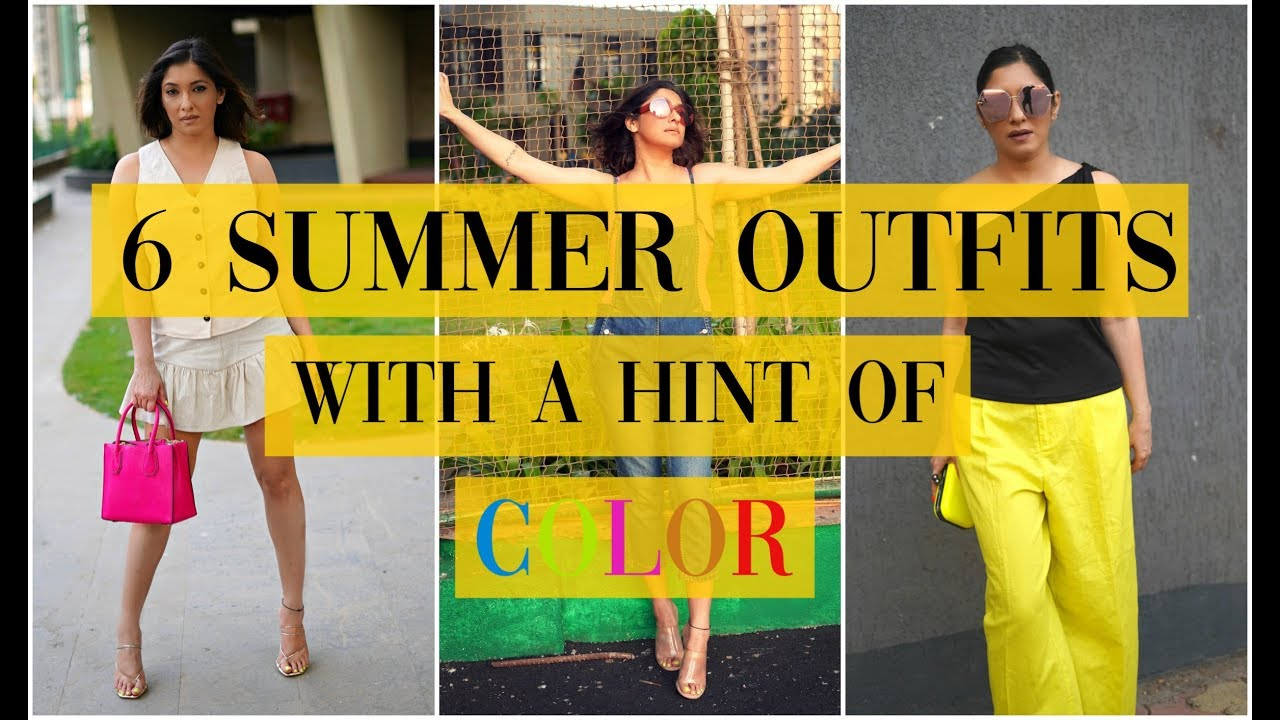 6 Summer outfits with a hint of Neon color | Shonima Kaul 8