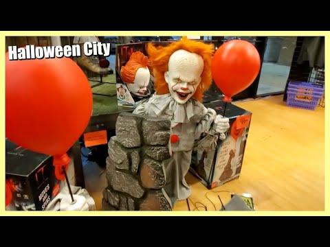 Halloween City 2020 HALLOWEEN CITY STORE WALKTHROUGH 2019   YouTube