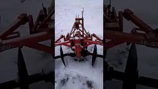 дискатор - активный плуг видео