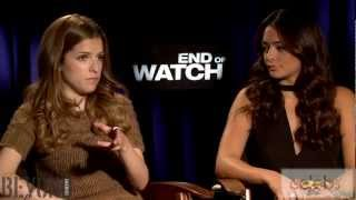 "Anna Kendrick & Natalie Martinez talk about ""End of Watch"" at the 2012 Toronto Film Festival"