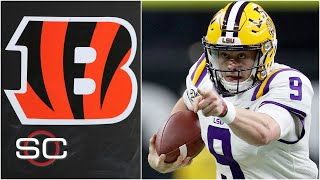 Are the Bengals locked in on Joe Burrow? | SportsCenter NFL Mock Draft Special