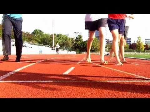 Courir Pied Nu à Paris Barefoot Running Society France IBRD