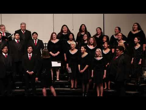 "Hartnell College Choir ""O Come All Ye Faithful""  Winter '18"
