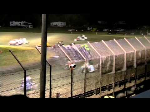 USAC Midgets - June 13, 2012 - Gas City - Feature