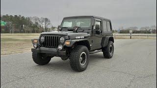 Davis AutoSports 2005 JEEP WRAGNLER LJ / ONLY 31K MILES / MODDED FOR SALE