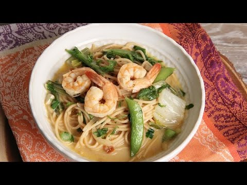 Thai Coconut Shrimp Noodle Bowl  Episode 1143
