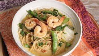 Thai Coconut Shrimp Noodle Bowl  Episode 1143