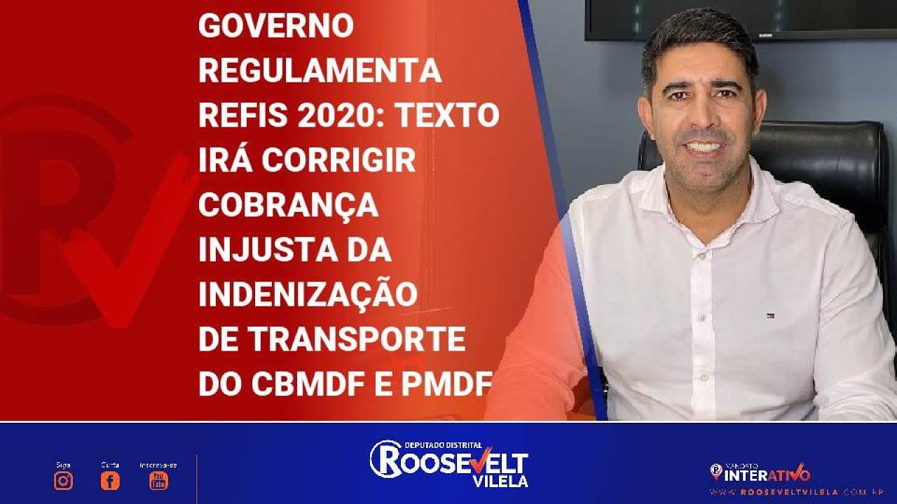 Refis2020 é regulamentado e corrigirá cobranças injustas da indenização de transporte da PM e CBMDF