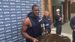 Seahawks' Frank Clark on dropping weight this offseason