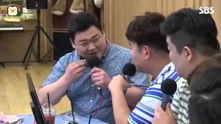 """[SBS]두시탈출컬투쇼,김준현,""""2차 성징 이후로 짜장면 보통은 먹어본 적이 없다"""""""