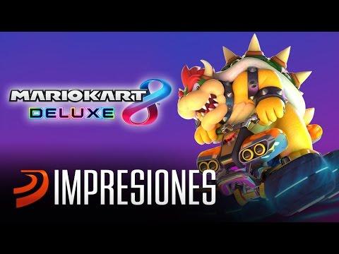 ¡Jugando Mario Kart 8 Deluxe en Nintendo Switch!