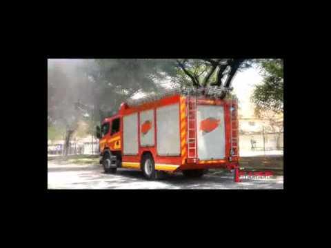 1st Fire Rescue ABC superfine powder car engine fire extinguisher