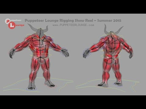 Puppeteer Lounge Student Rigging Show Reel | 2015