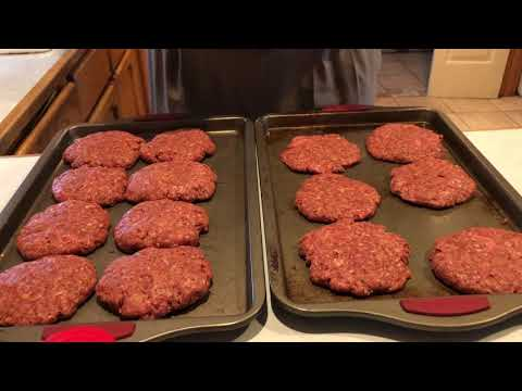 How to make Homemade Hamburgers 🍔🍔