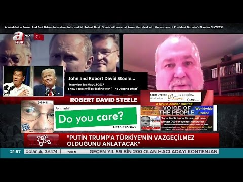 Interview with Robert David Steele and John!