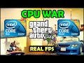 CPU WAR: C2D E8400 vs C2Q Q8300 - GTA V/5 | OverClock