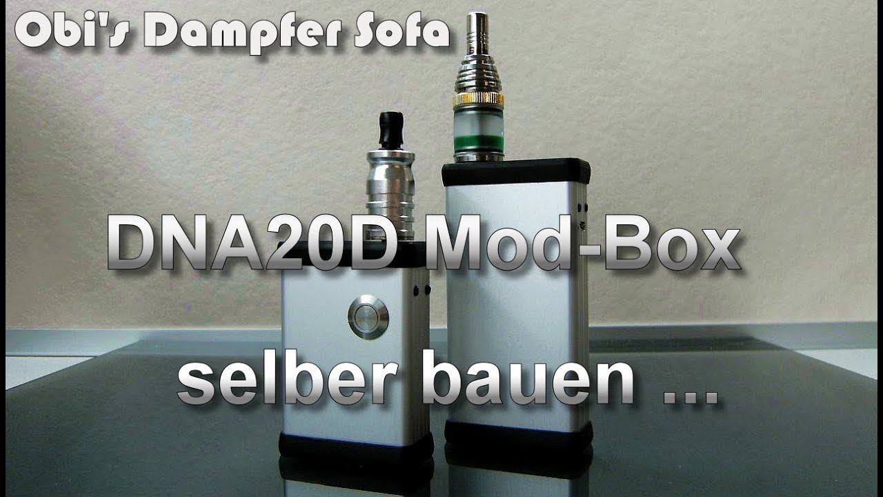 dna20d mod box selber bauen youtube. Black Bedroom Furniture Sets. Home Design Ideas