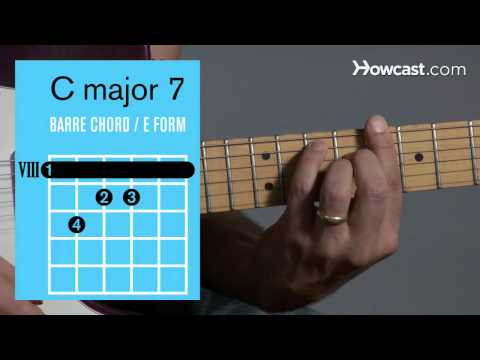 how-to-play-a-c-major-7-barre-chord-|-guitar-lessons