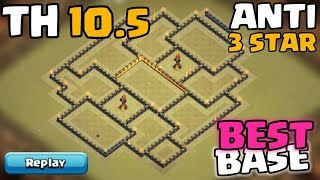 Town Hall 10.5 War Base | Anti Air | TH10.5 (TH11 Extra Walls) Anti 3 Star Base | Clash Of Clans