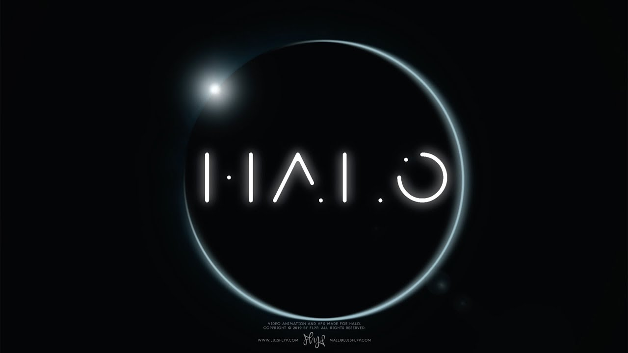 Halo Logo Youtube Halo is a font based on the halo title logo and it's the famous fonts free font of the day! halo logo youtube