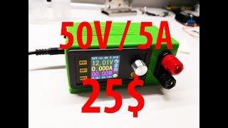 Лабораторный блок питания 50V / 5A за 25$ ЛБП RD dp50v5a своими руками DIY