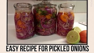 Recipe: Easy Recipe For Pickled Onions