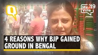 2 Seats to Double Digits: Why BJP Made Strides in West Bengal | The Quint thumbnail