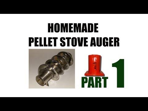 Pellets stove auger homemade - Part 1/2 - sub ita - fai da te