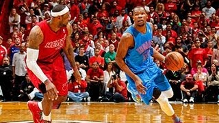 Repeat youtube video Lebron & Durant battle on Christmas!