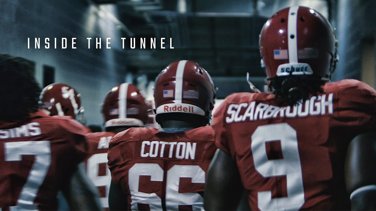 Alabama S Intense March To The Field Raw And Uncut Youtube