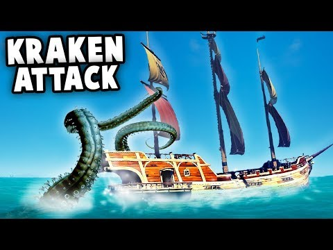 KRAKEN Attack!?  Epic Storms (Sea of Thieves Multiplayer Gameplay)