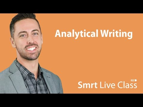 Analytical Writing - English for Academic Purposes with Josh #43