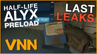 the Final Half-Life Alyx Leaks