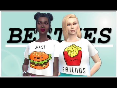 THE SIMS 4 | BEST FRIENDS CREATE-A-SIM - WITH CC LINKS
