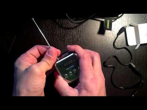 Портативный динамик памяти микро SD карты  USB   MP3 и  FM радио за 470 руб
