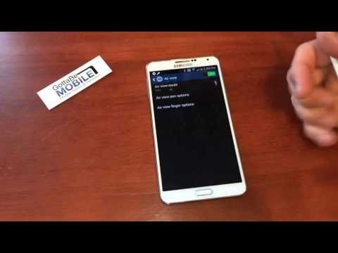 How to use Air View on the Samsung Galaxy Note 3