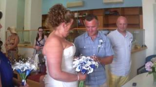 Wedding on Corfu , Andrea and Paul get Married 2017