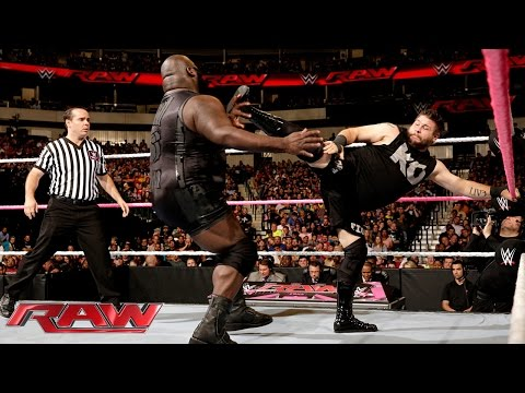 Mark Henry vs. Kevin Owens: Raw, October 19, 2015