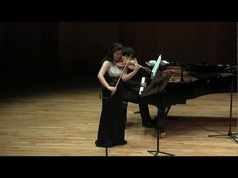 L. Janacek Violin Sonata JW VII_Vn. Jinjoo Cho