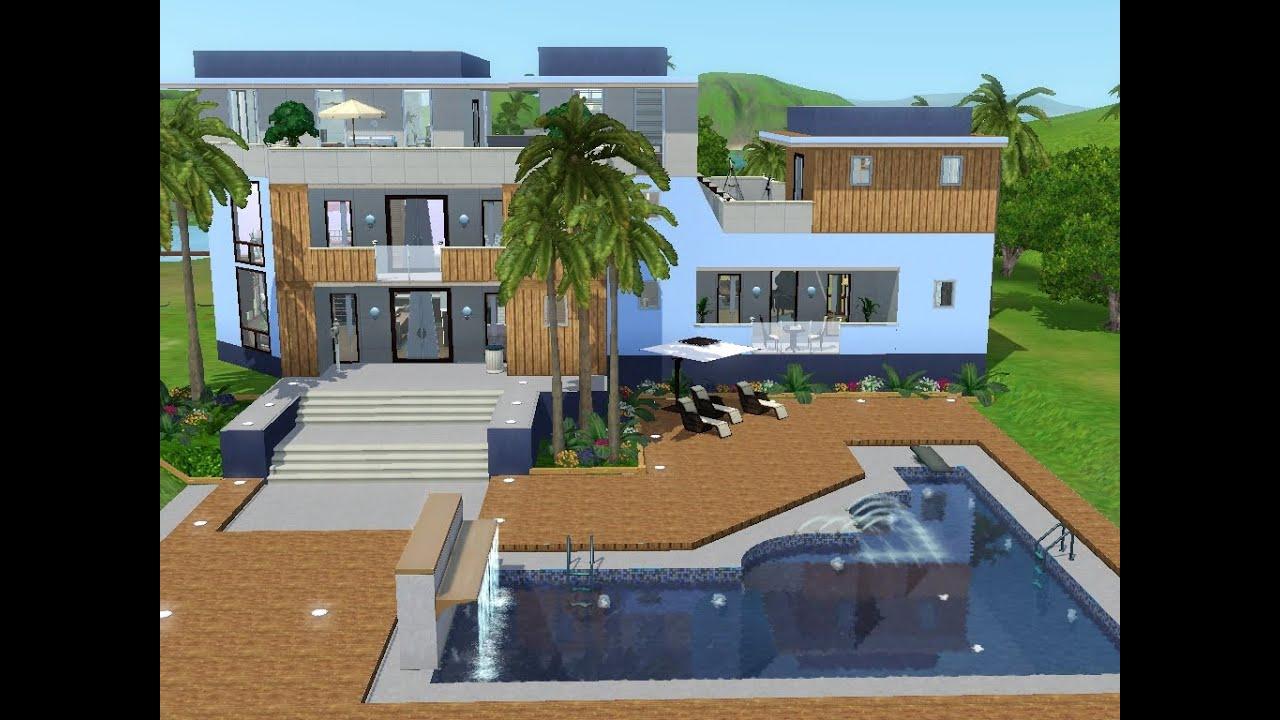Sims 3  Haus Bauen  Let's Build  Haus Mit Meerblick