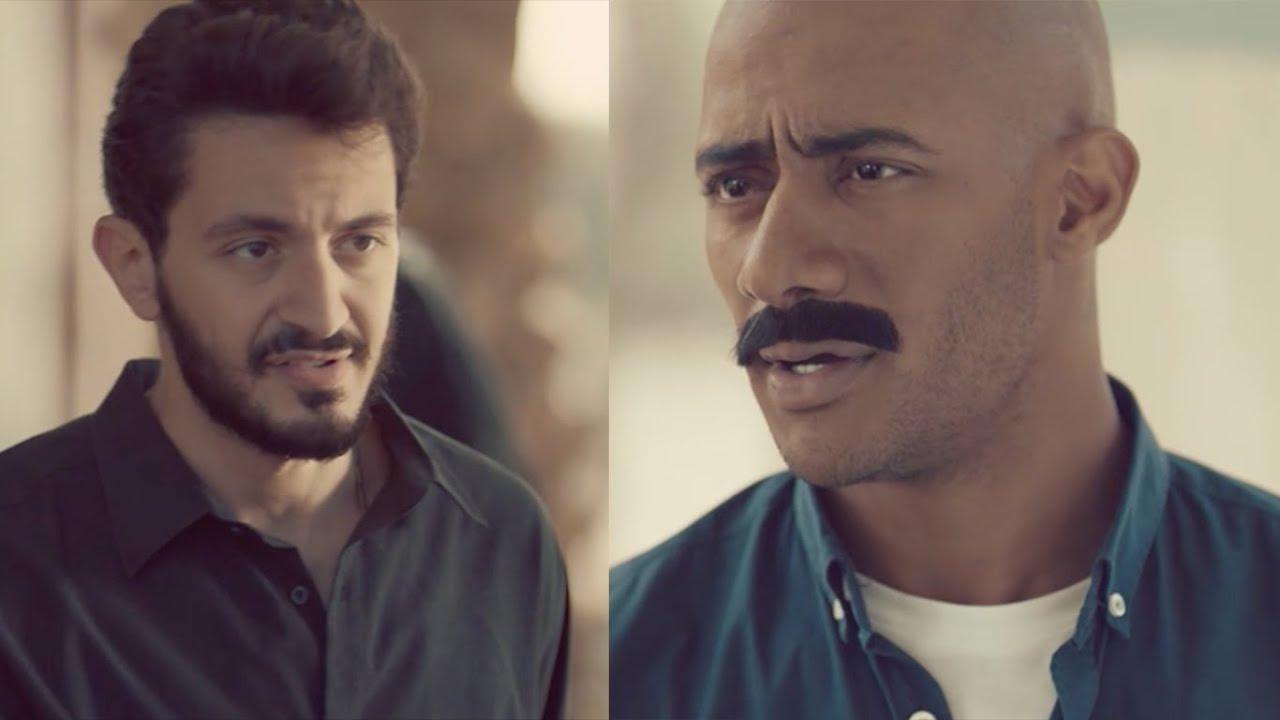 إعتذار أسامة لزلزال في عزاء عم غبريال / مسلسل زلزال - محمد رمضان