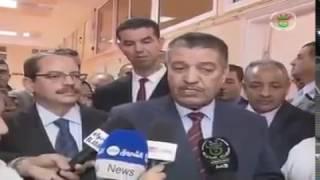 زيارة وزير الصحة عبد المالك بوضياف لمستشفى هواري بومدين بمدينة سدراتة ولاية سوق أهراس